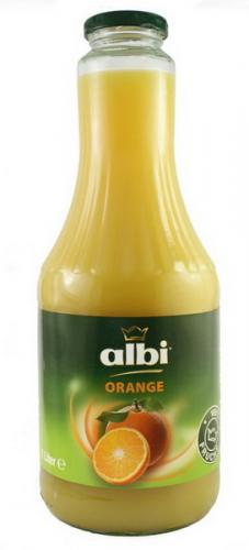 Сок Albi/Алби Апельсиновый 1 л. стекло (6 шт.) - основное фото