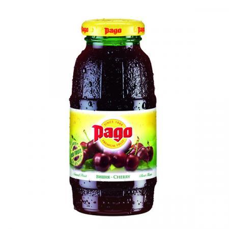 Сок Pago/Паго вишневый 0.2 л. (24 бут.) - основное фото
