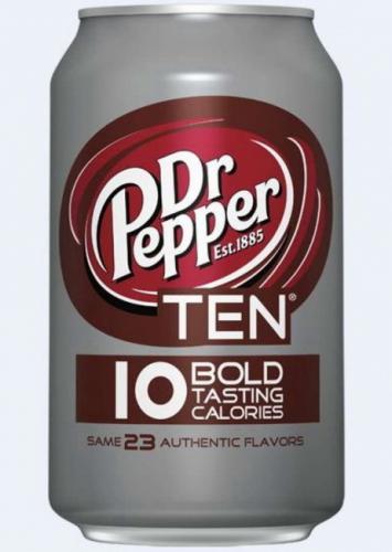 Dr Pepper / Доктор Пеппер Ten 0.355 л.(12 бан.) - основное фото