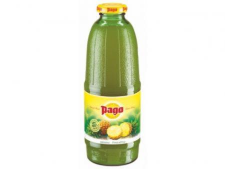 Сок Pago/Паго ананас 0.75 л. (6 бут.) - основное фото