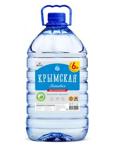 Крымская питьевая негаз. 6л. (2 бут.)  - основное фото