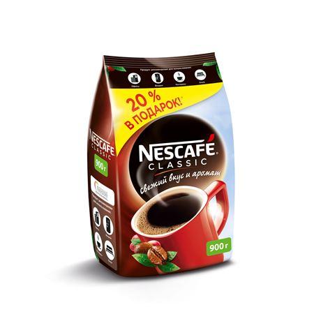 Nescafe Classic 900 гр. (1шт) - основное фото