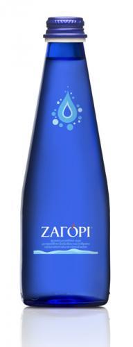 Вода Zagori 0.33 л газ, стекло (24 шт) - основное фото
