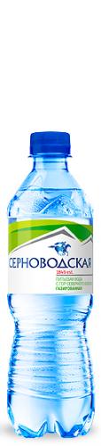 Серноводская природная минеральная 0,5л. газ. (12 бут) - основное фото