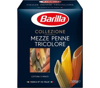 Макаронные изделия MezzePenne Tricolore /трехцветные 500г. BARILLA - основное фото
