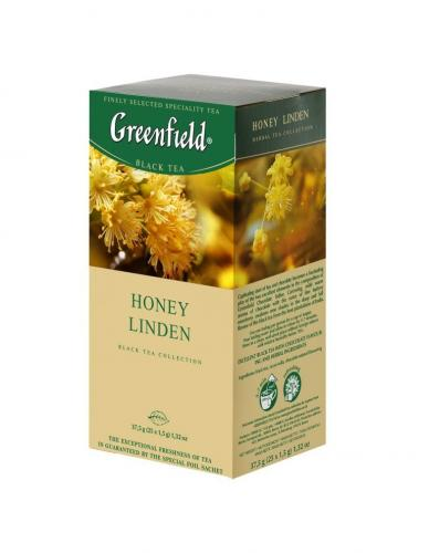 Greenfield Honey Linden 25 пак (1 шт) - основное фото