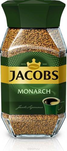 Jacobs Monarch 95гр (1шт) стекло - основное фото