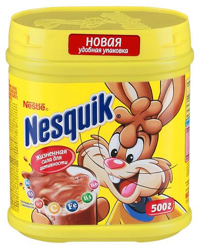 Какао Nesquik 500 гр - основное фото