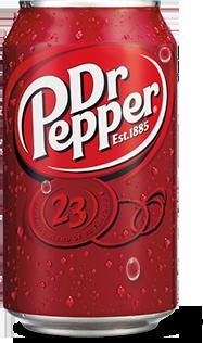 Dr Pepper / Доктор Пеппер 0,355 л. (24 бан.) - основное фото