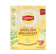 Чай Lipton English Breakfast 100 пак. (1шт.) - основное фото