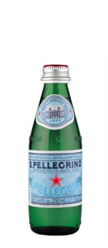 S.Pellegrino / Сан Пеллегрино 0,25л. газированная (24 шт) стекло - основное фото
