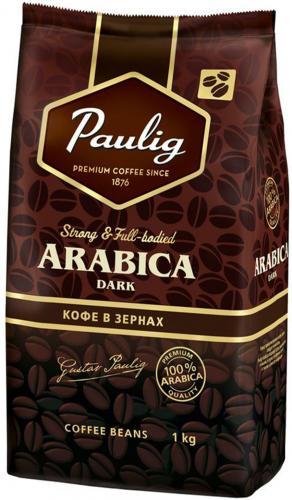 Paulig Arabica Dark в зернах 1 кг. (1 шт.) - основное фото
