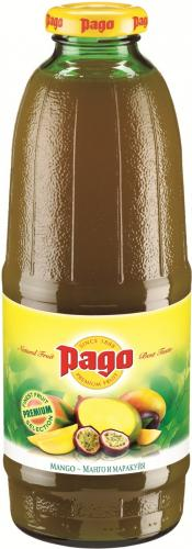 Сок Pago/Паго манго-маракуйя 0.75 л. (6 бут.) - основное фото