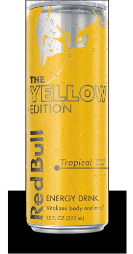 Red Bull 0,25л. тропические фрукты (24 бан.) - основное фото