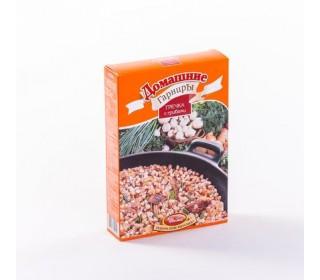 Гречка с грибами - Домашние гарниры с сушеными овощами и специями 300г.кор. Увелка - основное фото