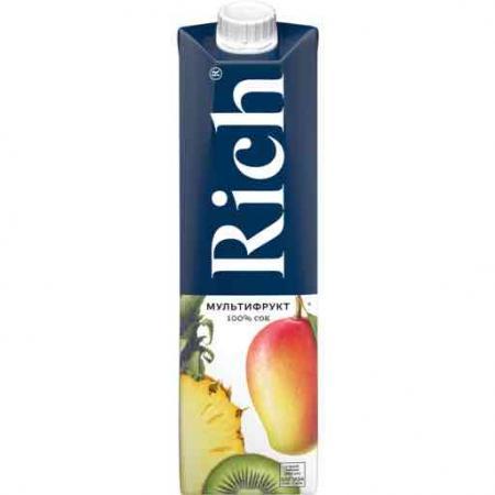 Rich/Рич Мультифрукт 1 л. (12 шт.) - основное фото