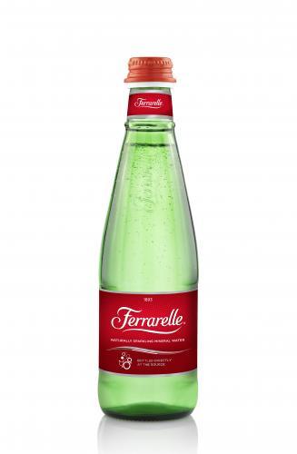 Ferrarelle Sparkling 0.33 л. ст. (24 бут.) - основное фото