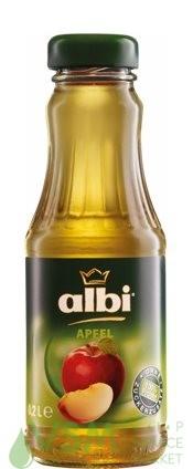 Сок Albi/Алби Яблочный 0.2л стекло (12шт) - основное фото
