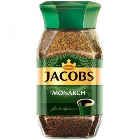 Jacobs Monarch 190гр (1шт) стекло - основное фото