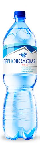 Серноводская горная питьевая 1,5л. без газа (6 бут.) - основное фото