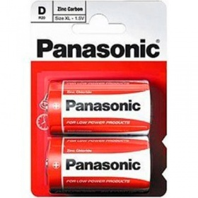 Батарейки Panasonic (серия D) (2 шт.) - основное фото