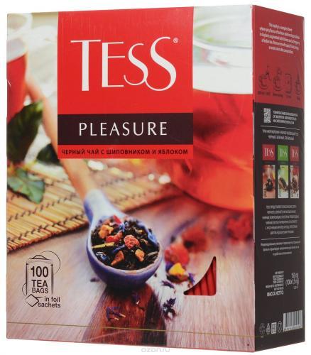 Чай Tess Pleasure (100 пак. по 1,5 гр) - основное фото