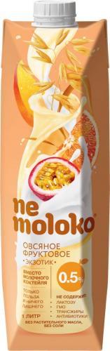 Nemoloko овсяный фруктовый Экзотик напиток 1л. 12шт. - основное фото
