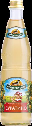 Черноголовка Лимонад Буратино 0,5 л. стекло (12 бут.) - основное фото