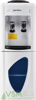 Кулер Aqua Work 0.7 LD White (шкафчик 10 л.) - основное фото