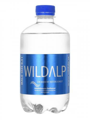 WILDALP Альпийская природная родниковая вода 0,5 л. (12 шт.) - основное фото