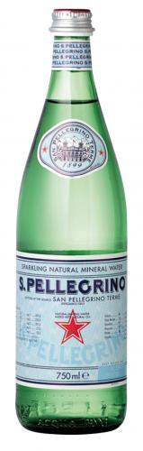 S.Pellegrino / Сан Пеллегрино 0,75л. газированная (15 шт) стекло - основное фото