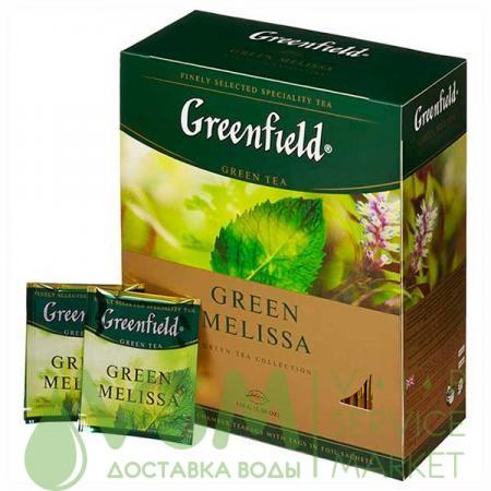 Greenfield Green Melissa 100 пак (1 шт) - основное фото
