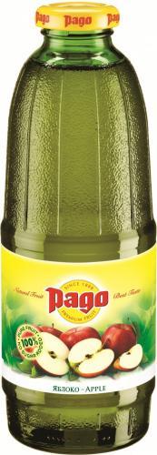 Сок Pago/Паго яблоко 0.75 л. (6 бут.) - основное фото