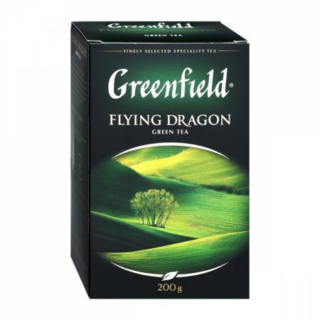 Чай GREENFIELD Flying Dragon зеленый, 200 г листовой - основное фото