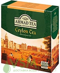 Ahmad Цейлонский черный 100 пак (1 шт) - дополнительное фото