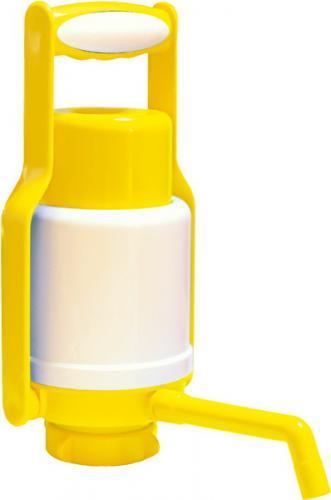 Помпа Дельфин Эко Плюс с ручкой желтая - дополнительное фото