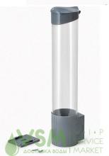 Держатель стаканов на шурупах (серый) - дополнительное фото