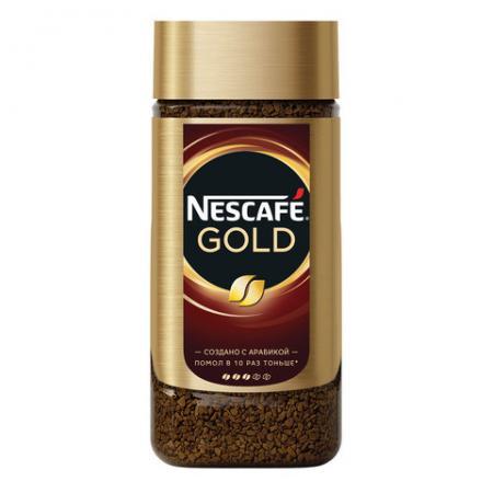 Nescafe Gold растворимый 190 гр (1шт) - дополнительное фото