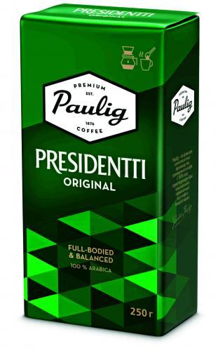 Paulig President молотый 250 гр. м/у (1шт.) - дополнительное фото