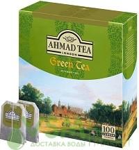 Ahmad зелёный 100 пак (1 шт) - дополнительное фото