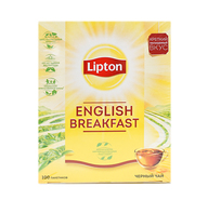 Чай Lipton English Breakfast 100 пак. (1шт.)