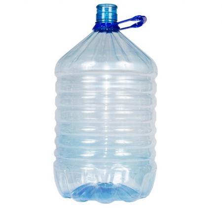 Бутыль одноразовая ПЭТ 19 л. - дополнительное фото