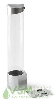 Держатель стаканов на магните (серебристый) - дополнительное фото