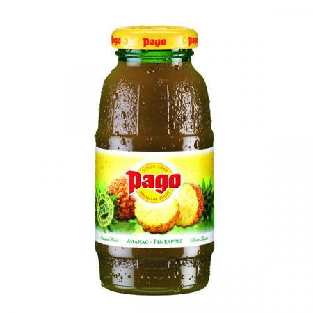 Сок Pago/Паго ананас 0.2 л. (24 бут.) - дополнительное фото