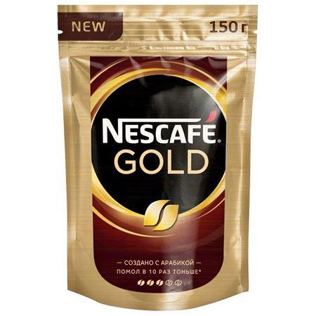 Nescafe Gold растворимый 150 гр. (1шт) - дополнительное фото