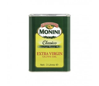 Масло оливковое MONINI Extra Virgin ж/б, 3л. - дополнительное фото