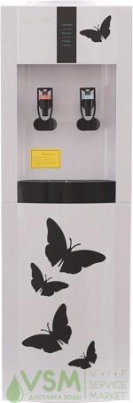 Кулер Aqua Work 16 L/EN Белый с бабочками - дополнительное фото