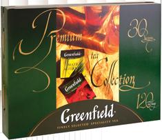Greenfield Набор из 30 сортов чая (120 пакетиков) - дополнительное фото